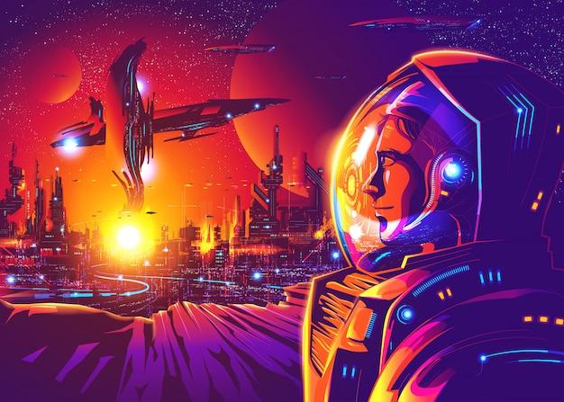 Futuro lejano colonización humana