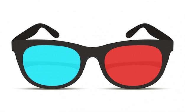 Gafas 3d realistas para cine.