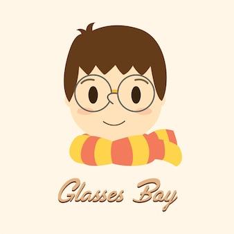 Gafas chico