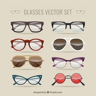 Gafas conjunto