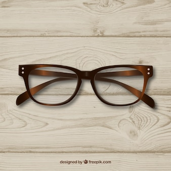 Gafas retro clásico del caminante