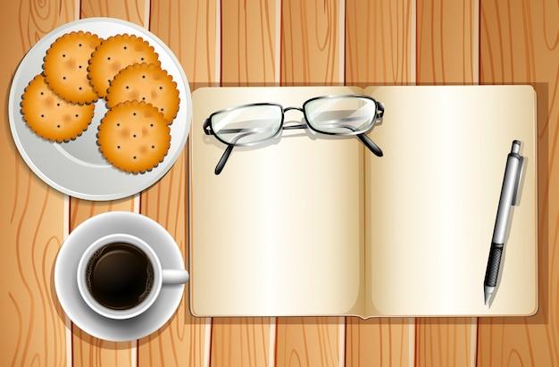 Galletas y café
