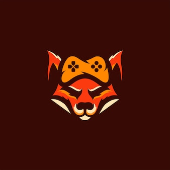 Gaming fox logo