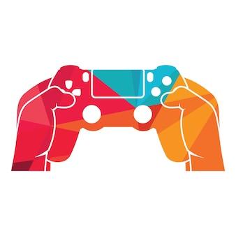 Gaming logo playstation 4 controller