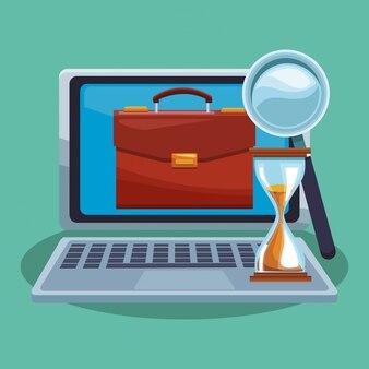 Ganar dinero en línea con la computadora portátil