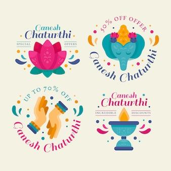Ganesh chaturthi venta de insignias