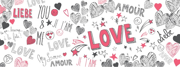 Garabatos de amor