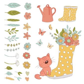 Gardener cat accesorios de cuidado de primavera