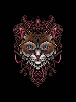 Gato mandala