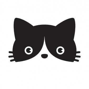 Gato vector gatito calicó personaje de dibujos animados