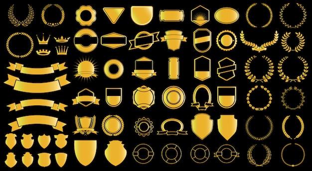 Generador de lazos y badjes estilo oro