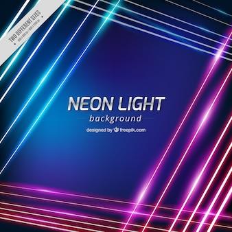 Genial fondo de luces de neón