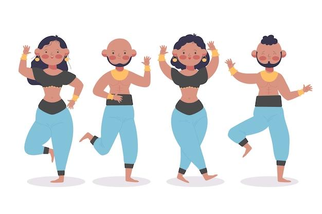 Gente bailando bollywood