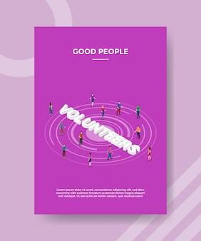 Gente buena gente concepto