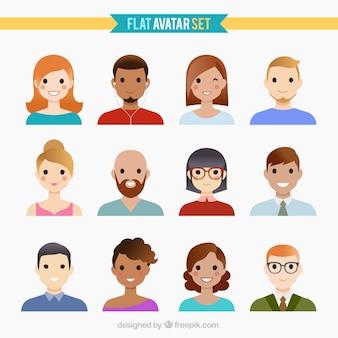 Gente divertida avatares
