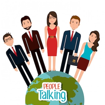 Gente hablando