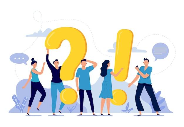 La gente hace preguntas frecuentes