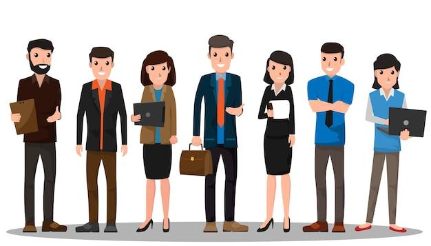 Gente de negocios, trabajo en equipo