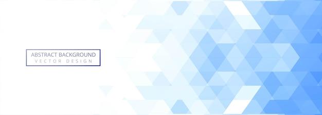 Geométrico azul abstracto