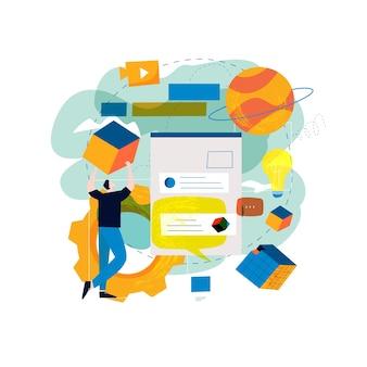 Gestión de contenido digital, creando contenido en línea atractivo
