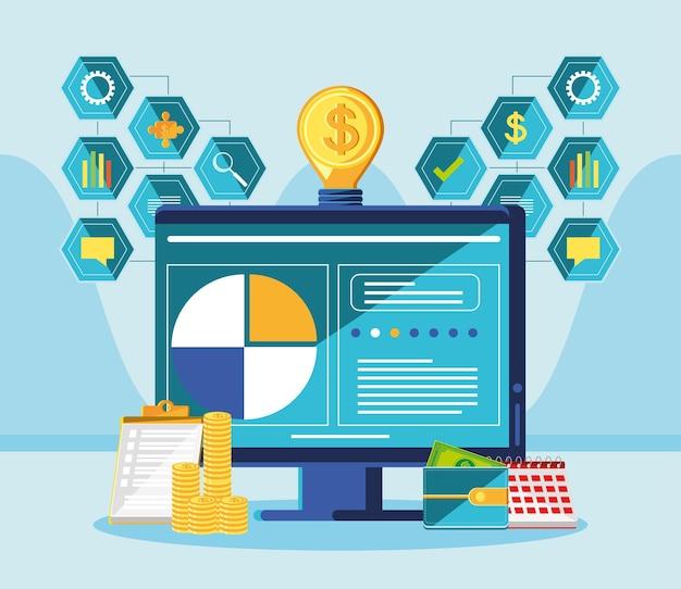 Gestión financiera por computadora