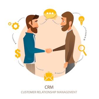 Gestión de la relación con el cliente.