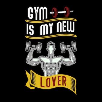 El gimnasio es mi nuevo amante