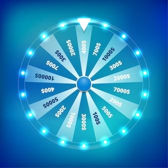 Giro de la rueda de la fortuna