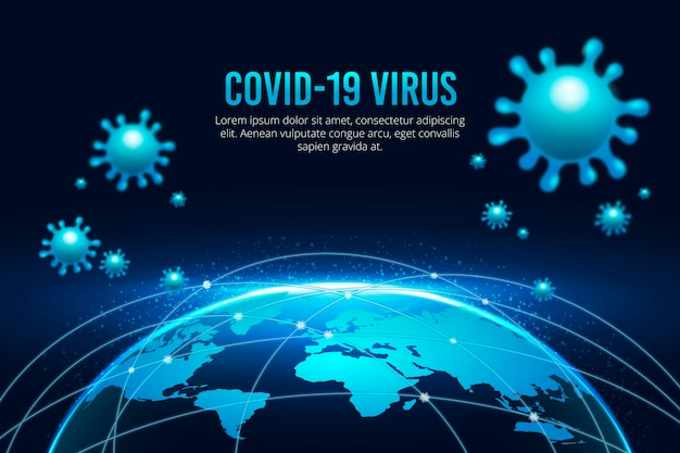 El globo del coronavirus está en cuarentena