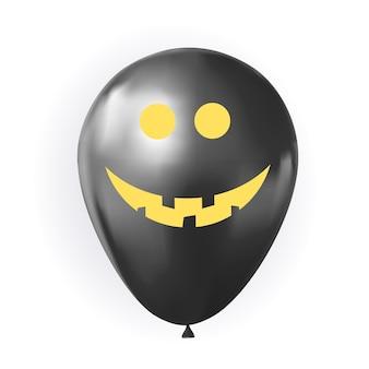 Globo divertido para halloween aislado en blanco. ilustración vectorial eps10