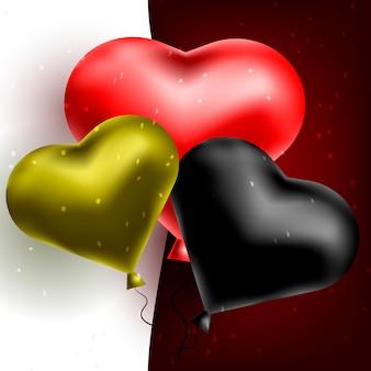 Globos de celebracion corazon