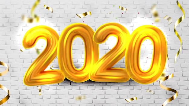 Globos de helio 2020