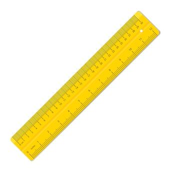 Gobernantes de colores. suministros de herramientas de medición.