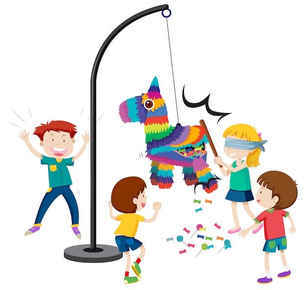 Golpea el juego piñata