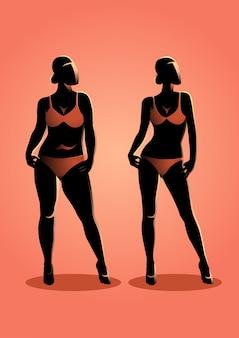 Gordo y en forma