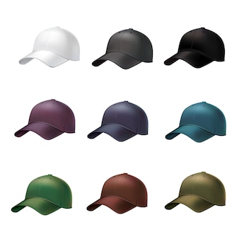 Gorra de béisbol realista