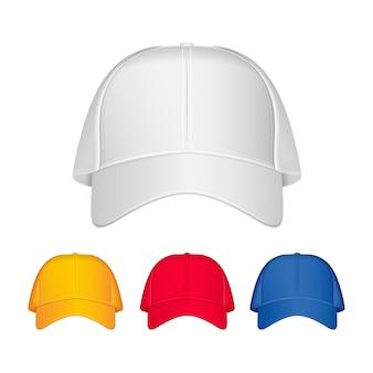 Gorra de beisbol. vector ilustración realista