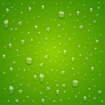Gotas de agua en la ilustración de diseño de fondo