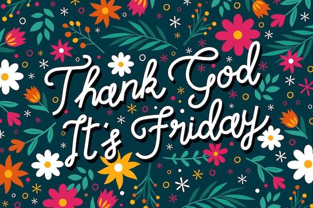 Gracias a dios es viernes fondo