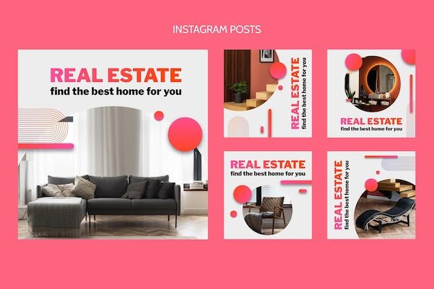 Gradient real estate ig post