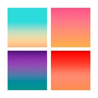 Gradiente abstracto en violeta, rosa, azul, rojo.