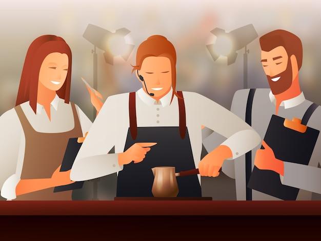 Gradiente barista