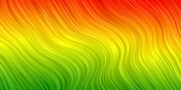 Gradiente de color de fondo abstracto reggae. papel pintado de rayas