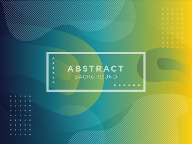 Gradiente de colores formas geométricas abstractas con fluidos líquidos.