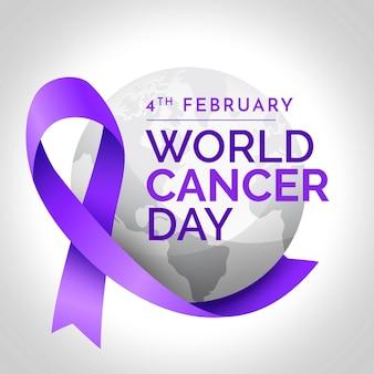 Gradiente día mundial del cáncer