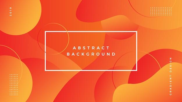 Gradiente de fondo abstracto vibrante