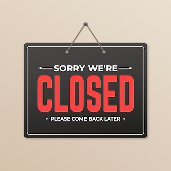 Gradiente, lo siento, estamos cerrados.