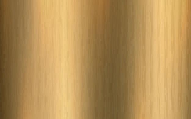 Gradiente metálico dorado con rayas. efecto de textura de superficie de lámina de oro.