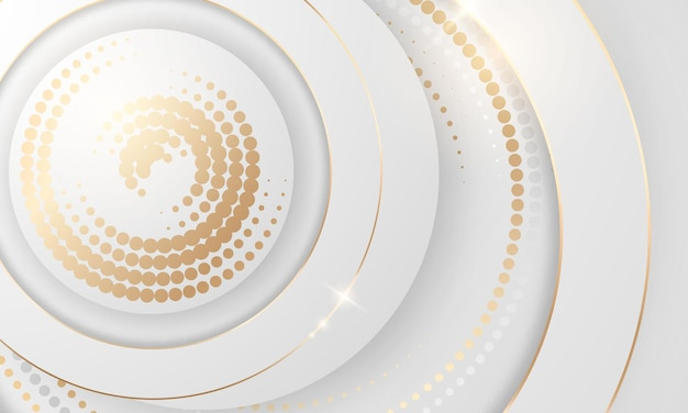 Gradiente de oro fondo de textura de semitono de color cromo. vector plantilla de oro, latón cobre y metal.