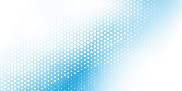Gradiente de patrón de semitono hexagonal